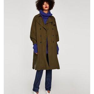 Zara Woman Trench Coat